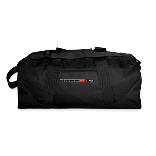 Contra Code Fitted Cotton/Poly T-Shirt by Next Level - Duffel Bag