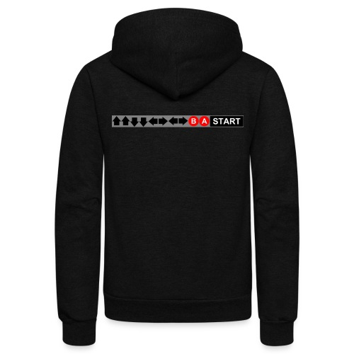 Contra Code Fitted Cotton/Poly T-Shirt by Next Level - Unisex Fleece Zip Hoodie