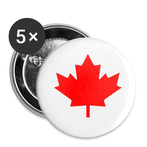GALAXY S7 - CANADA LEAF - Buttons small 1'' (5-pack)