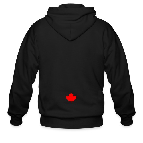 GALAXY S7 - CANADA LEAF - Men's Zip Hoodie