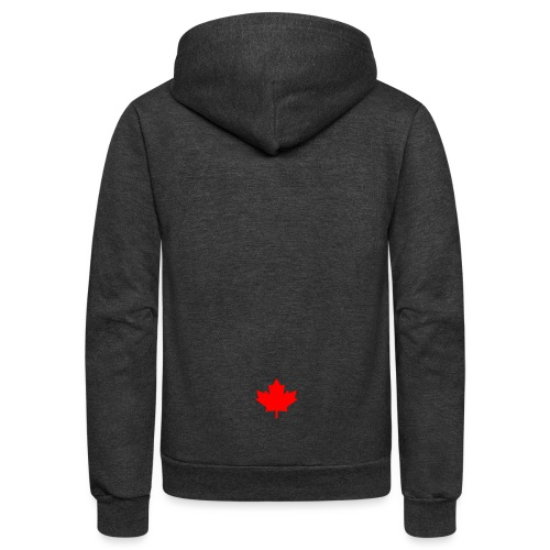 GALAXY S7 - CANADA LEAF - Unisex Fleece Zip Hoodie