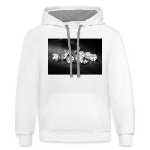 WHITEDIAMONDS - Contrast Hoodie