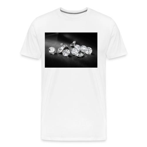WHITEDIAMONDS - Men's Premium T-Shirt