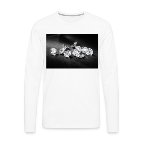 WHITEDIAMONDS - Men's Premium Long Sleeve T-Shirt