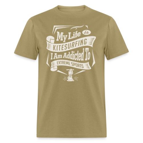 My Life is Kitesurfing - Men's T-Shirt