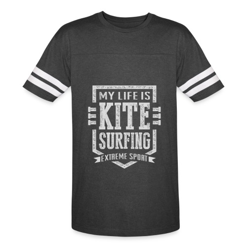 My Life Is Kite Surfing - Vintage Sport T-Shirt