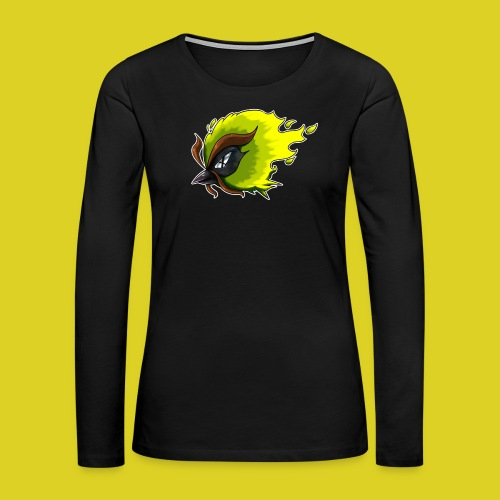 FeatherMoonX Owl Logo Women Tank - Women's Premium Long Sleeve T-Shirt