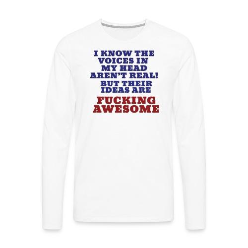 The Voices - Men's Premium Long Sleeve T-Shirt