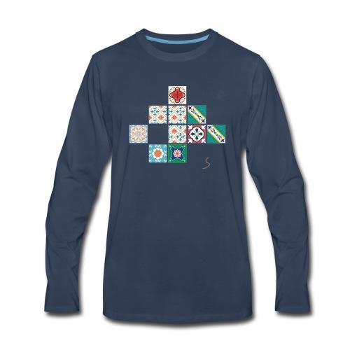 Tile desorder - Men's Premium Long Sleeve T-Shirt