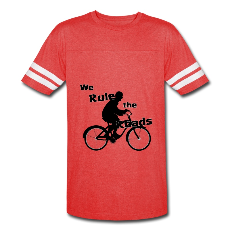 We Rule the Roads (Cyclist) - Vintage Sport T-Shirt