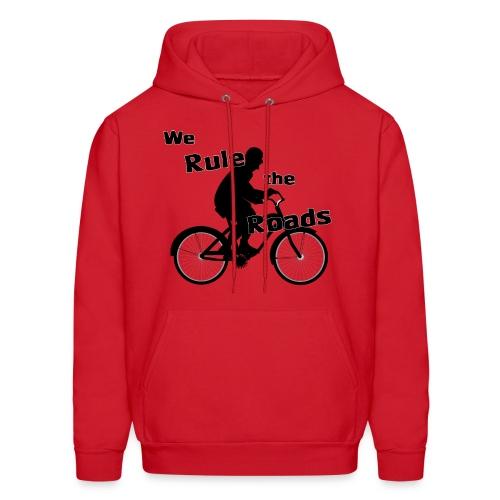 We Rule the Roads (Cyclist) - Men's Hoodie