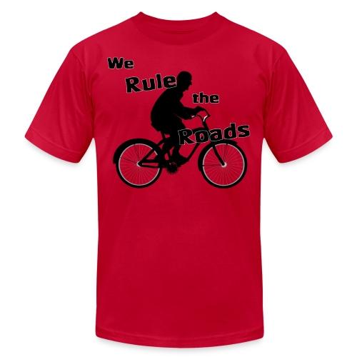 We Rule the Roads (Cyclist) - Men's  Jersey T-Shirt