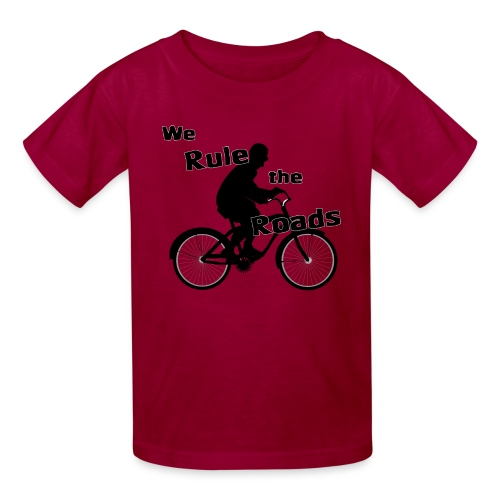 We Rule the Roads (Cyclist) - Kids' T-Shirt