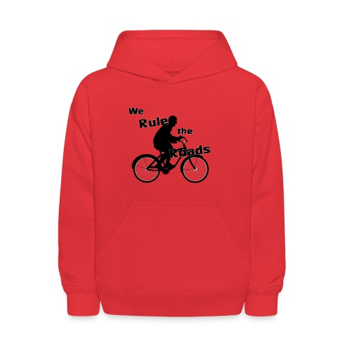 We Rule the Roads (Cyclist) - Kids' Hoodie