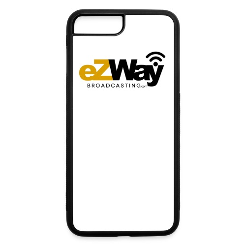 eZway Broadcasting Tshirt Cotton - iPhone 7 Plus/8 Plus Rubber Case