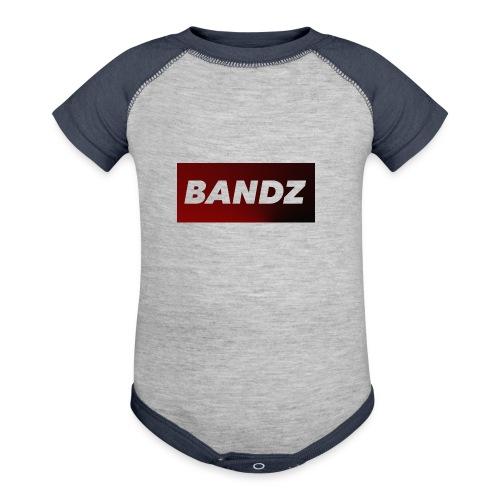 Bandz Hoodie - Contrast Baby Bodysuit