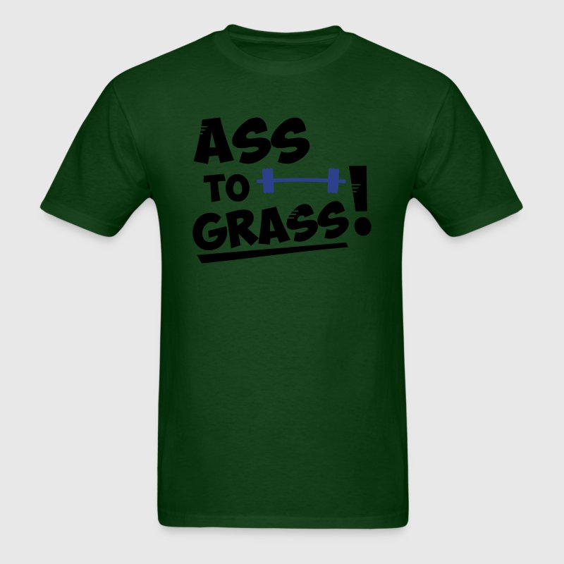 Ass to grass! - Men's T-Shirt