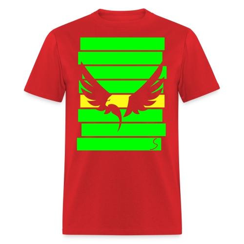 Eagle over stripes - Men's T-Shirt