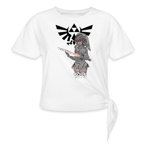 Linkette female t-shirt - Women's Knotted T-Shirt