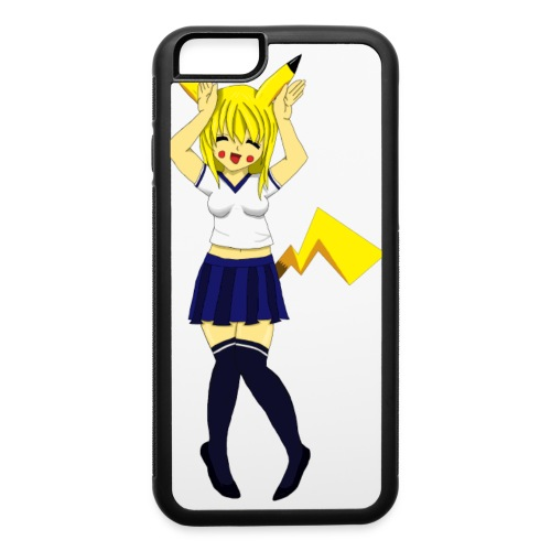 Pika Girl Female T-Shirt - iPhone 6/6s Rubber Case