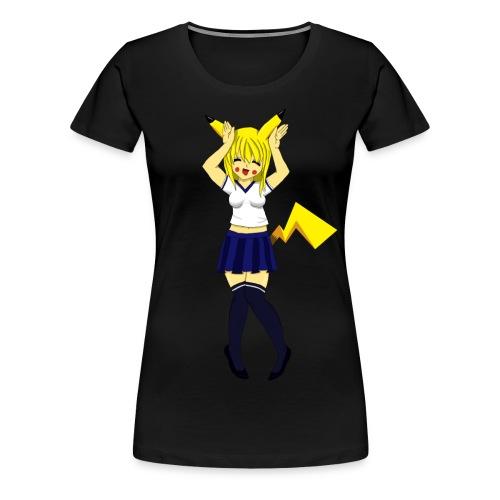 Pika Girl Female T-Shirt - Women's Premium T-Shirt