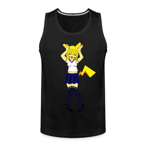 Pika Girl Female T-Shirt - Men's Premium Tank