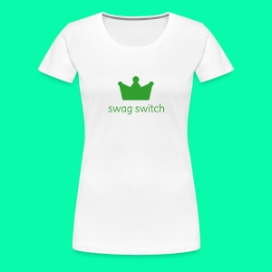 swag switch - Women's Premium T-Shirt