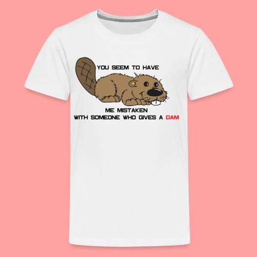 Gives a Dam - Kids' Premium T-Shirt