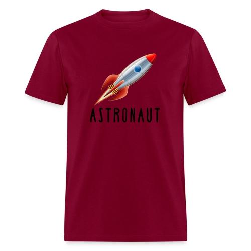 Retro Rocket for Budding Astronauts - Men's T-Shirt