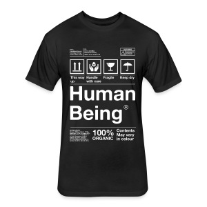 Human Being - Fitted Cotton/Poly T-Shirt by Next Level