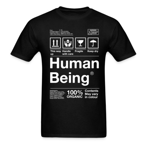 Human Being - Men's T-Shirt