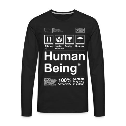 Human Being - Men's Premium Long Sleeve T-Shirt