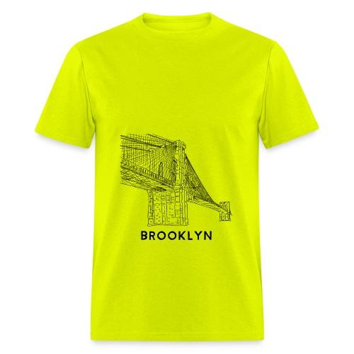 Brooklyn Bridge - New York City - Men's T-Shirt