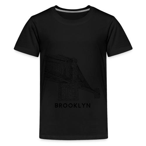 Brooklyn Bridge - New York City - Kids' Premium T-Shirt
