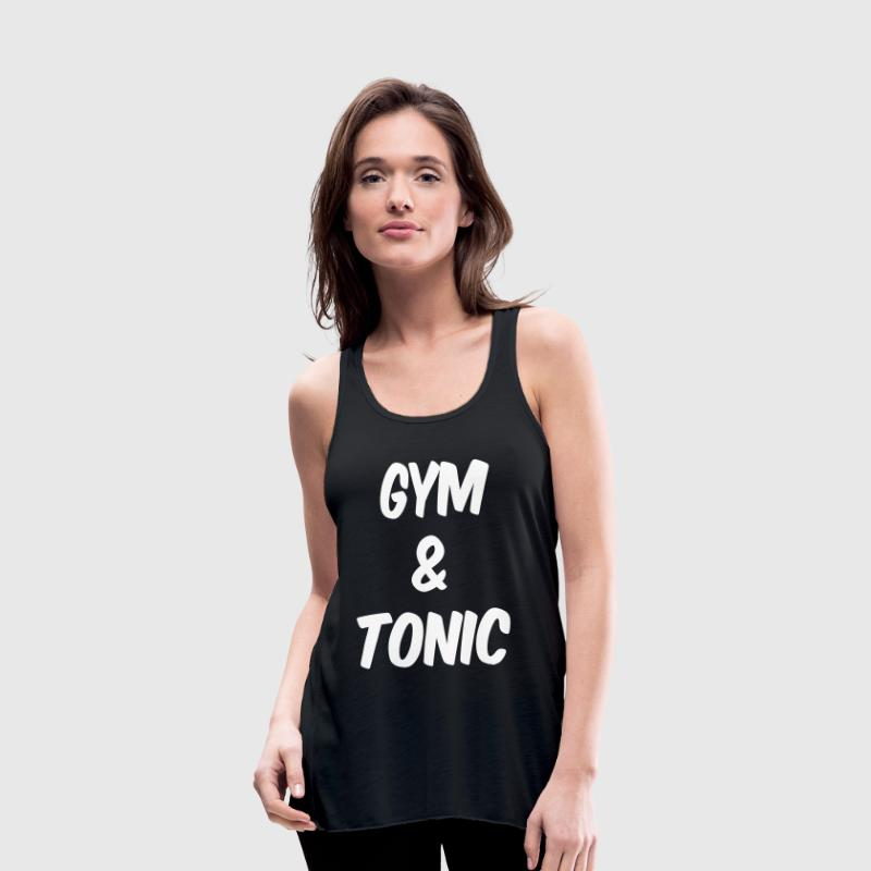 Gym and Tonic Tanks - Women's Flowy Tank Top by Bella