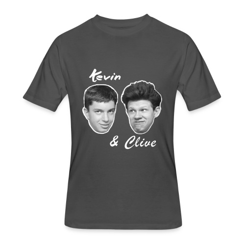 Kevin and Clive Tie Dye - Men's 50/50 T-Shirt