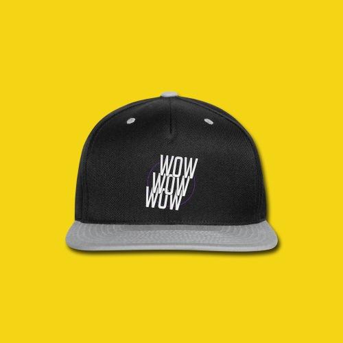 WOW WOW WOW Baseball T - Snap-back Baseball Cap
