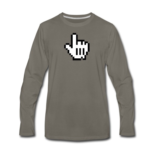 Master Hand - Men's Premium Long Sleeve T-Shirt