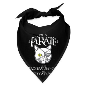 Funny Pirate Kitty - Bandana