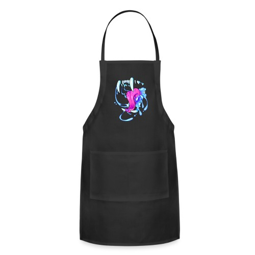 BIG CAT Hoodie (No Text) - Adjustable Apron