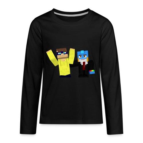 Grey Scrubs Kids Sweater - Kids' Premium Long Sleeve T-Shirt