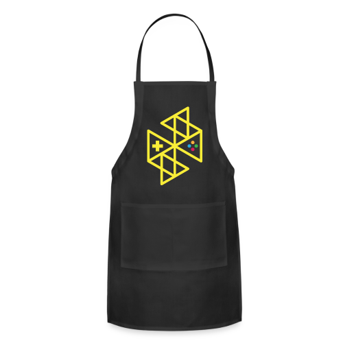 Abstract Gaming Yellow Women's - Adjustable Apron