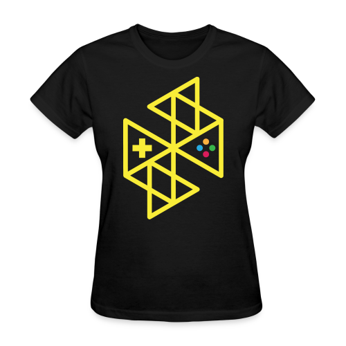 Abstract Gaming Yellow Women's - Women's T-Shirt