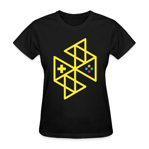 Abstract Gaming Yellow Women's - Women's T-Shirt