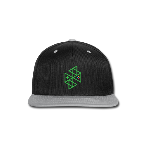 Abstract Gaming Green Women's - Snap-back Baseball Cap