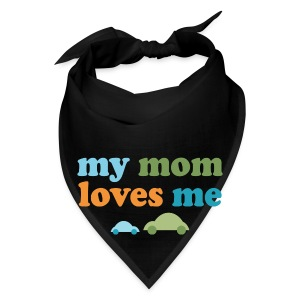 Retro Cars My Mom Loves Me - Bandana