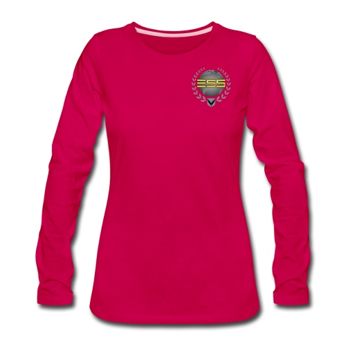 ESS womans Tshirt  - Women's Premium Long Sleeve T-Shirt