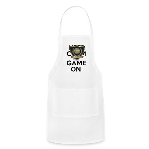 ESS Gaming Tshirt (keep calm and game on white) - Adjustable Apron