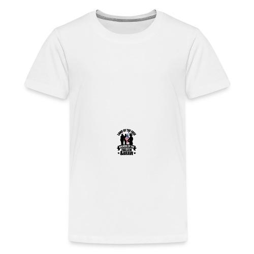 Land of Free Because of Fallen & Brave - Kids' Premium T-Shirt