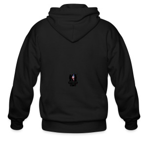 Never Forget Our Fallen Soldiers - Men's Zip Hoodie